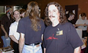 Matt stalking the Levelord at QuakeCon 97 Photo from Wendigo's Quake Galleries