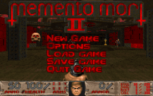 Memento Mori 2. This isn't my level, but it shows the new stat bar I worked on for many weeks (Thomas Moeller added some extra magic).