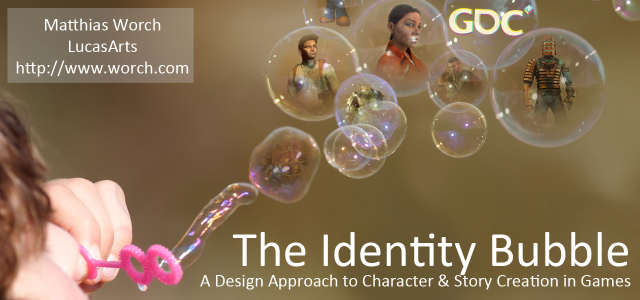 GDC 2011: The Identity Bubble